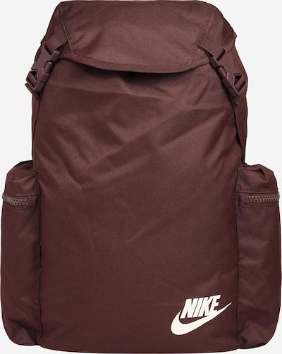 Nike Sportswear Sac à dos de sport 'Heritage' en rouille, Vue avec produit