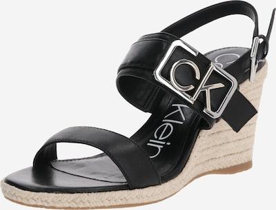 Calvin Klein Sandały z rzemykami 'BELORA' w kolorze czarnym, Podgląd produktu