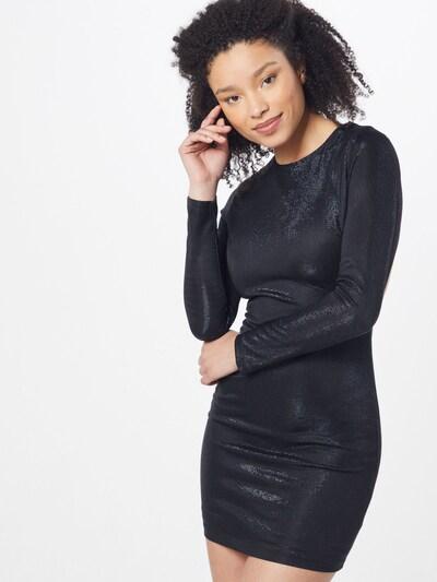 Bardot Kleid 'METALLIC KNIT DRESS' in schwarz, Modelansicht