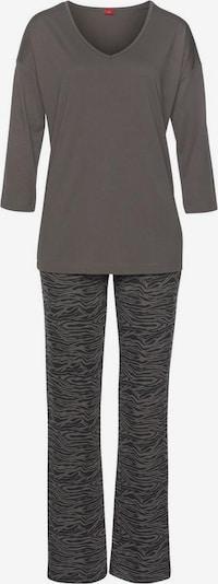 s.Oliver Pyjama in de kleur Donkergrijs, Productweergave