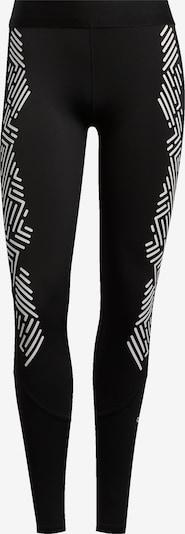 ADIDAS PERFORMANCE Pantalon de sport 'ASK GRPHIC L T' en noir / blanc, Vue avec produit