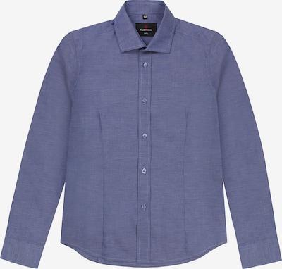 G.LEHMANN Langarmhemd Slim Fit in blau, Produktansicht
