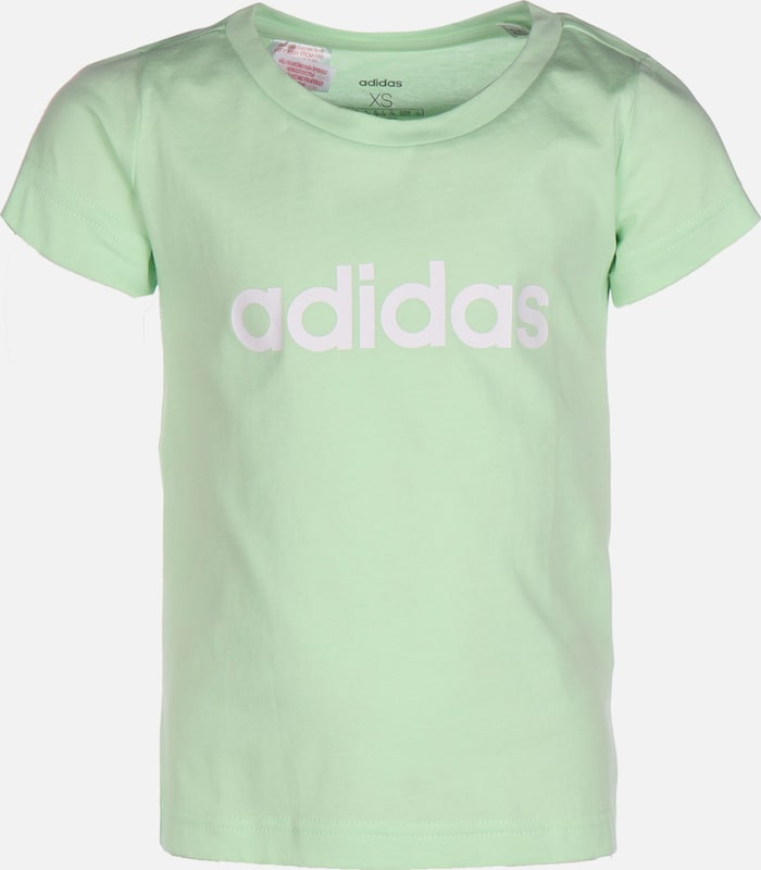 ADIDAS PERFORMANCE T-Shirt 'E Lin' in mint / weiß: Frontalansicht