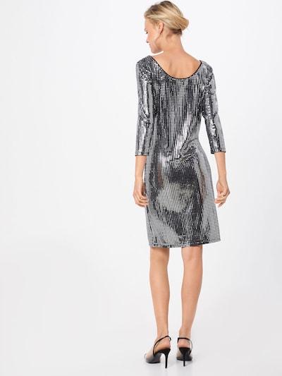Suknelė 'VIBEYLA 3/4 DRESS/TB' iš VILA , spalva - juoda / Sidabras: Vaizdas iš galinės pusės
