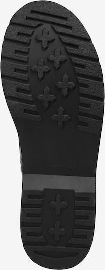 ABOUT YOU Botki sznurowane 'Levke' w kolorze czarnym: Widok od dołu