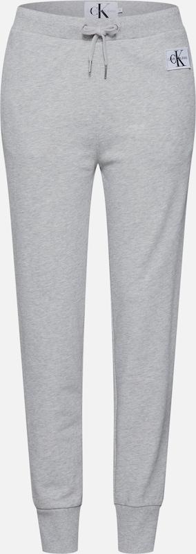'monogram Pantalon Sweatpant' Gris Jeans Klein Calvin En f6gv7ybmYI