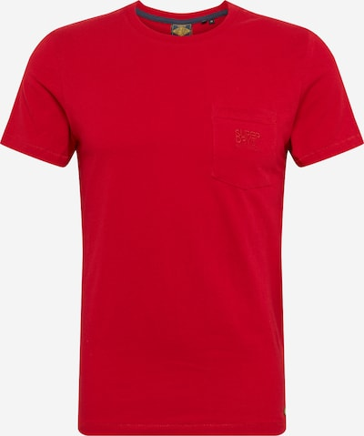 Superdry Shirt 'DENIM GOODS' in rot, Produktansicht