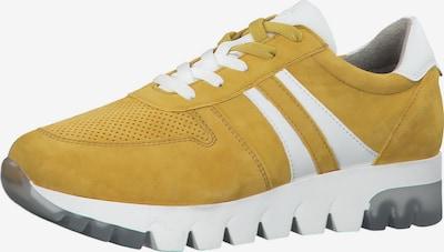 TAMARIS Låg sneaker i senap / vit, Produktvy