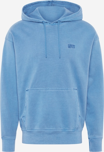 LEVI'S Sweatshirt 'AUTHENTIC' in de kleur Blauw, Productweergave
