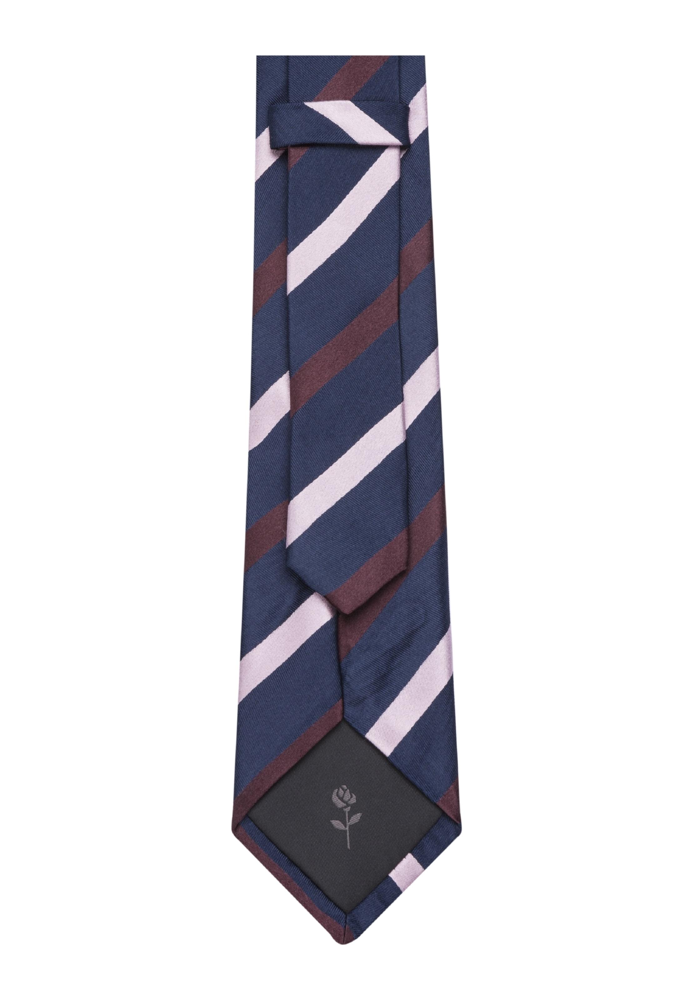 Krawatte 'schwarze Seidensticker MarineBordeaux Rose' Wollweiß In Y7bf6gy