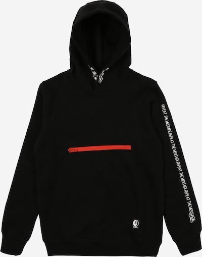 GARCIA Sweatshirt in rot / schwarz / weiß, Produktansicht