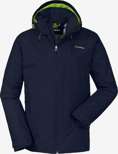 Schöffel Jacke 'Adamont ' in dunkelblau / grün, Produktansicht
