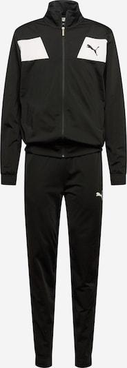Îmbrăcaminte sport 'Techstripe Tricot Suit CL' PUMA pe negru / alb, Vizualizare produs