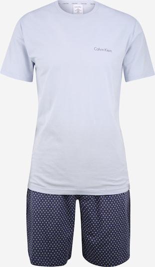 Calvin Klein Underwear Pyjama court en blanc, Vue avec produit