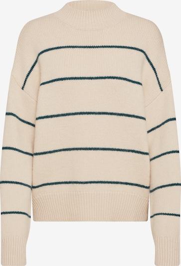 EDITED Pullover 'Katara' in beige / grün, Produktansicht