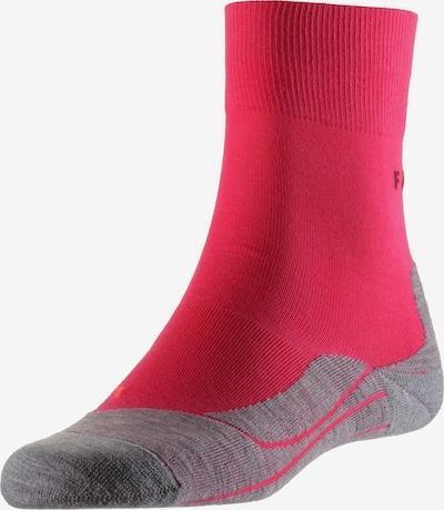 FALKE Športové ponožky 'RU4' - sivá melírovaná / ružová, Produkt