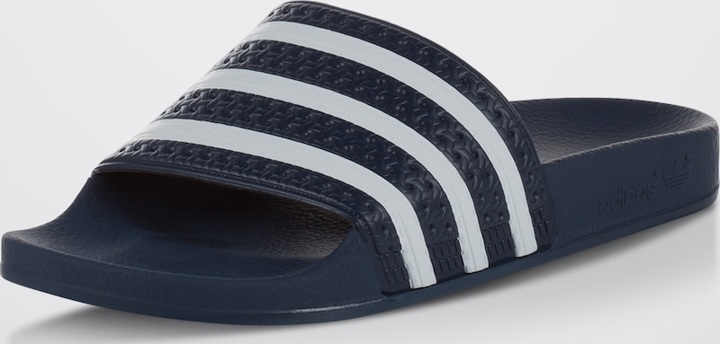 ADIDAS ORIGINALS Bade-Slider Adilette billige Verschleißfeste billige Adilette Schuhe d278a5