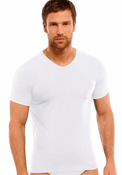 SCHIESSER Podkoszulka w kolorze białym, Podgląd na modelu(-ce)