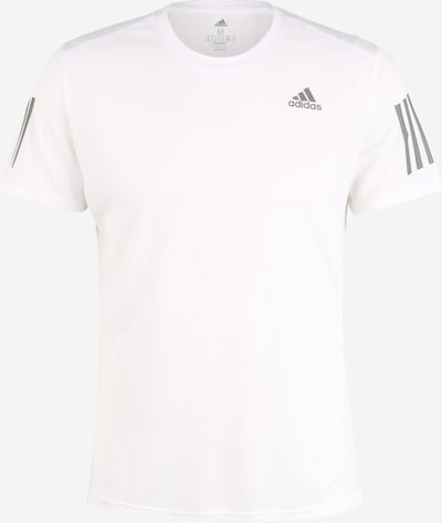 ADIDAS PERFORMANCE Ikdienas krekls pieejami tumši pelēks / balts, Preces skats