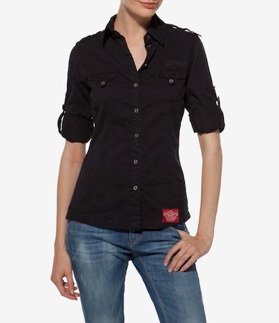 Soccx Bluse in nachtblau, Modelansicht