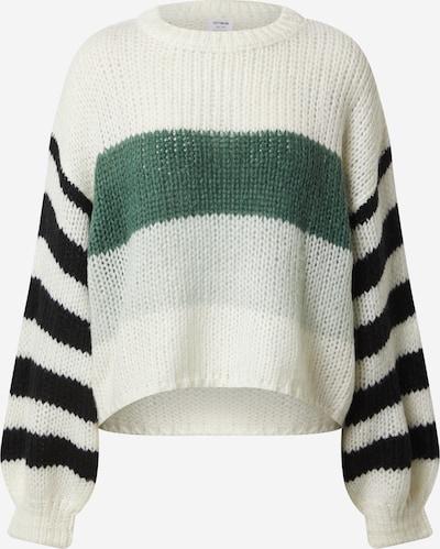 Megztinis iš Cotton On , spalva - žalia / juoda / balta, Prekių apžvalga