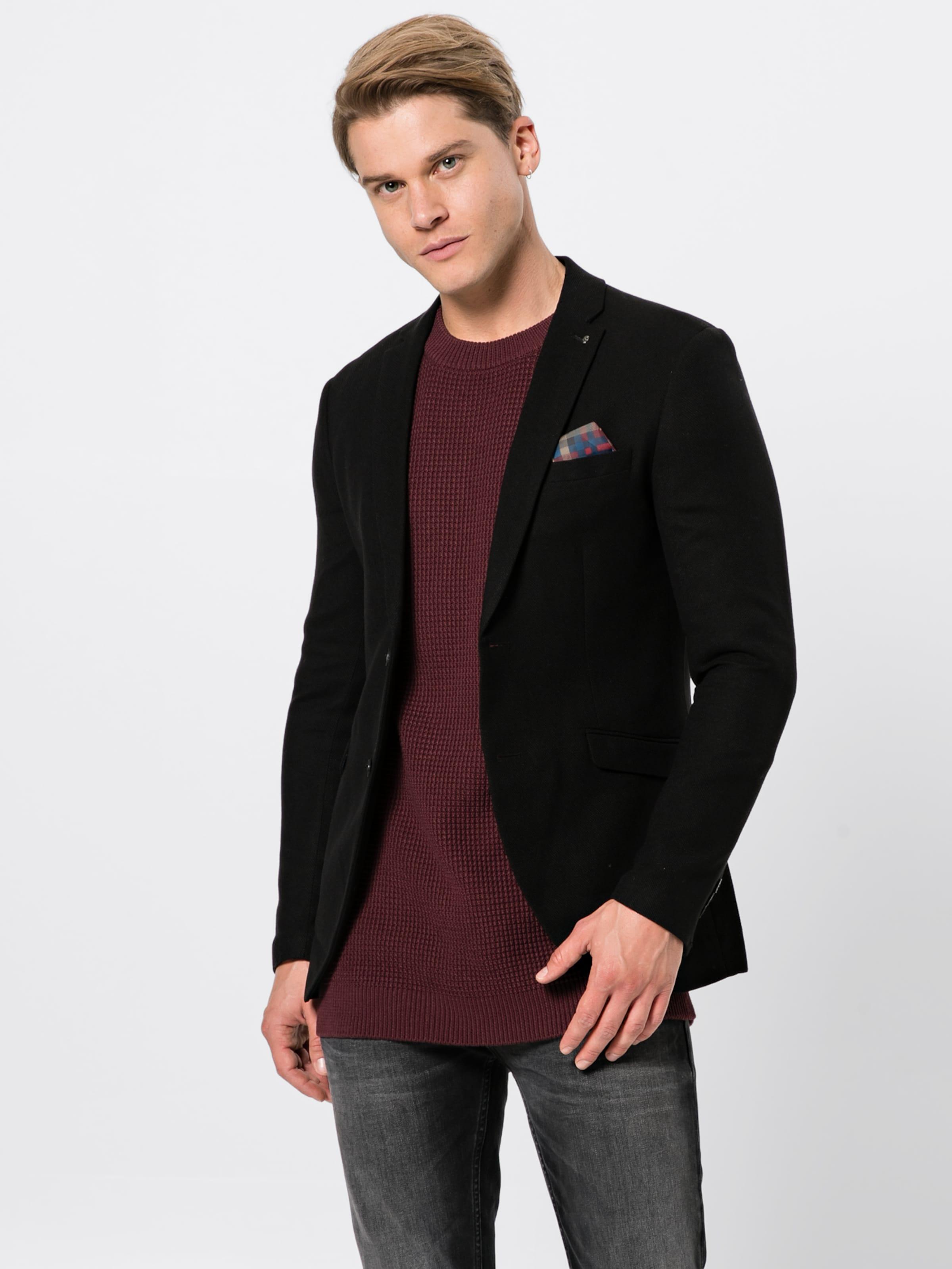 Blazer' En 'jproslo Jackamp; Veste De Jones Costume Noir bf6g7Yyv