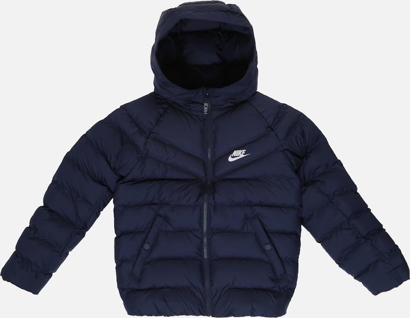 Nike Sportswear Kurtka zimowa 'B NSW JACKET FILLED' Granatowy