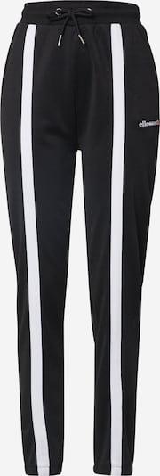 ELLESSE Hose 'ASTRO' in schwarz / weiß, Produktansicht