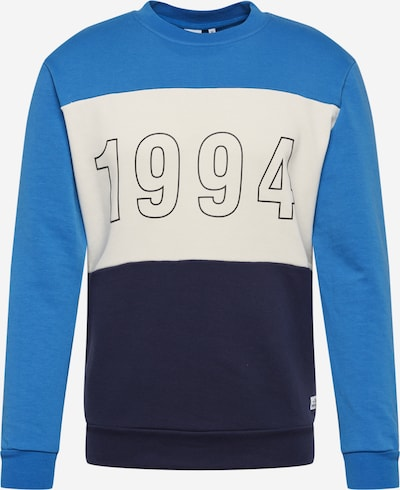 Hailys Men Sweatshirt 'Jackson' in navy / royalblau, Produktansicht