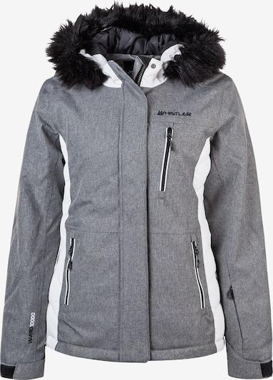 Whistler Skijacke in grau: Frontalansicht