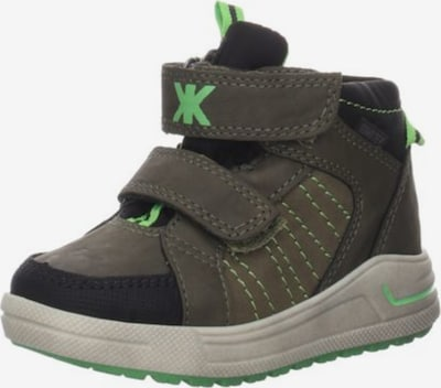 SUPREMO Stiefel in grün, Produktansicht