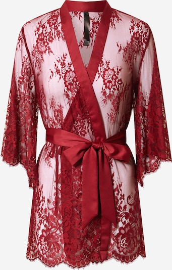 Hunkemöller Robe de chambre 'Isabella' en rouge, Vue avec produit