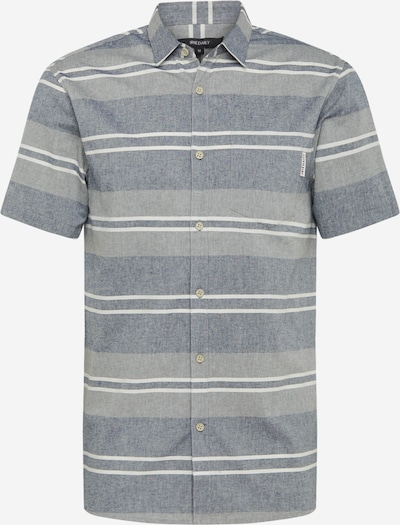 Iriedaily Hemd in hellgrau / graumeliert / weiß, Produktansicht