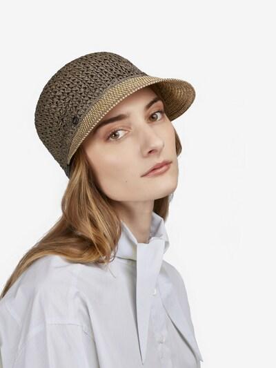 LOEVENICH Hut in beige / grau, Modelansicht