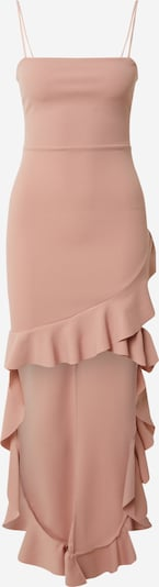 Missguided Jurk 'SQUARE NECK RUFFLE HIGH LOW DRESS' in de kleur Rosa, Productweergave
