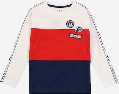 STACCATO T-Shirt en bleu / rouge / blanc, Vue avec produit