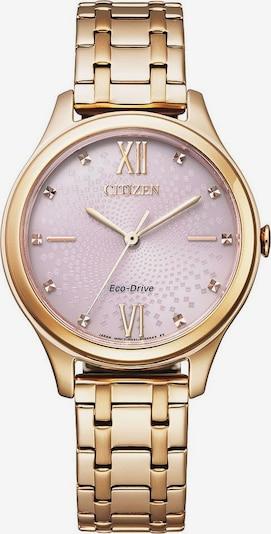 CITIZEN Uhr in rosegold / rosa, Produktansicht