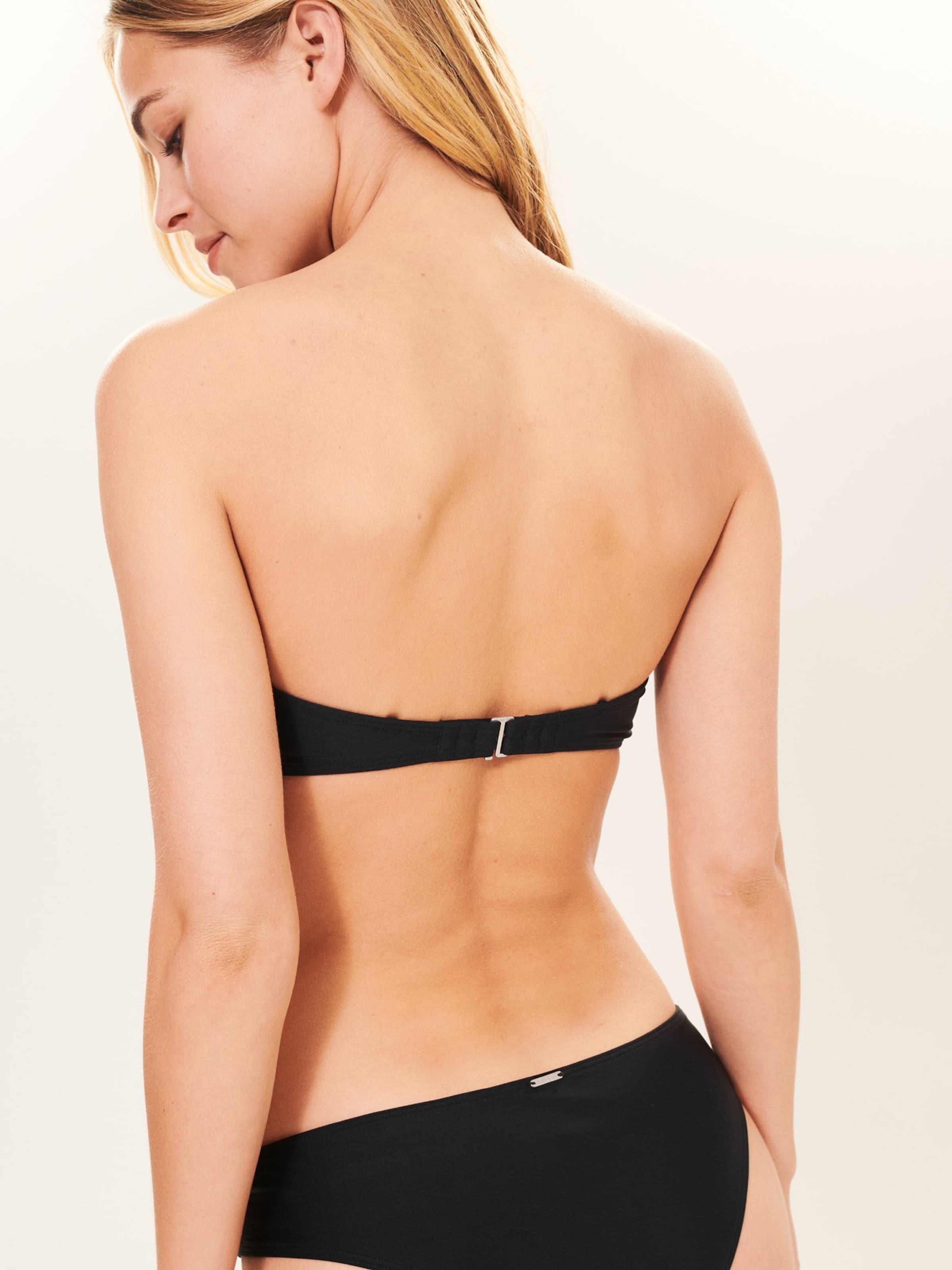 Hauts 'sb19 Bikini Noir Bandeau' Fitch lattice De Abercrombieamp; En kZuiOPXT