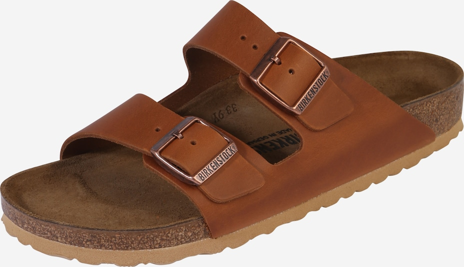 BIRKENSTOCK Sandalen 'Arizona Antique Aging' in cognac, Produktansicht