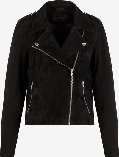 Y.A.S Bikerjacke in schwarz, Produktansicht