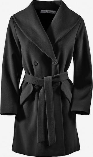 Demisezoninis paltas iš heine , spalva - juoda, Prekių apžvalga