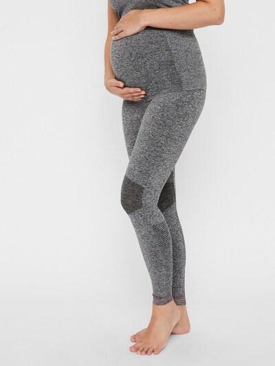 MAMALICIOUS Leggings in grau, Modelansicht