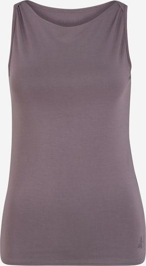 CURARE Yogawear Top sportowy 'Flow' w kolorze jagodam, Podgląd produktu