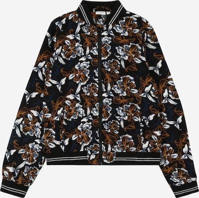 NAME IT Prehodna jakna 'VINAYA' | rjava / petrol / črna / bela barva, Prikaz izdelka