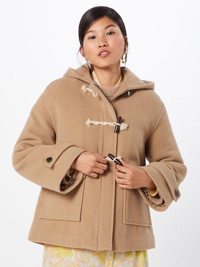 khaki Samsoe Samsoe Átmeneti kabátok 'Daimy jacket 11124', Modell nézet