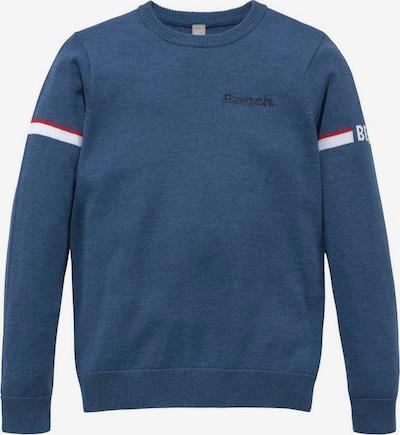 BENCH Pullover in blau, Produktansicht