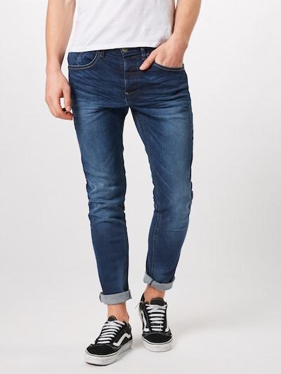 Jeans 'Twister Regular Straight' BLEND pe denim albastru, Vizualizare model
