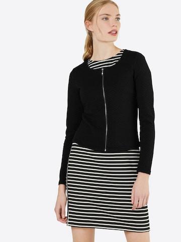 VILA Knit Cardigan 'Vinaja' in Black