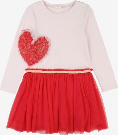 Billieblush Kleid in gold / rosa / feuerrot, Produktansicht