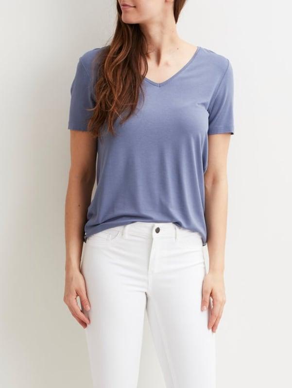 VILA T-Shirt V-Ausschnitt